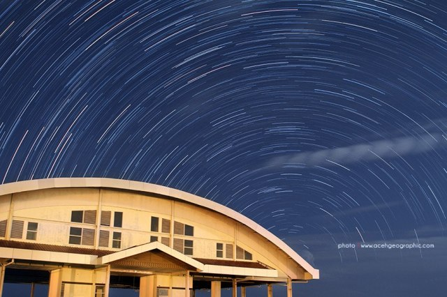 Star Trails at Banda Aceh