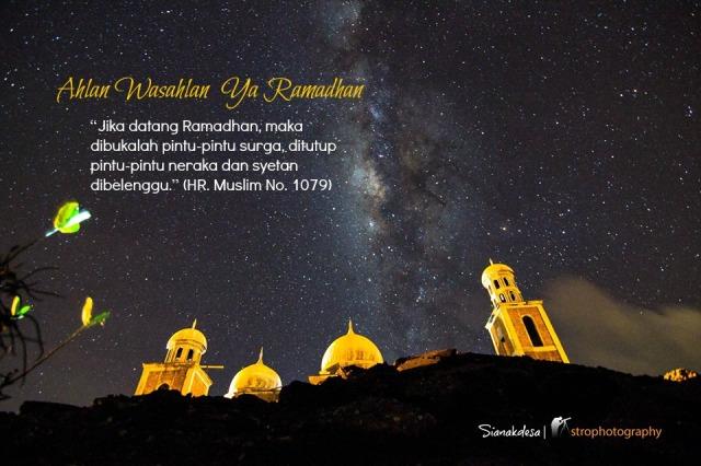 Marhaban Yaa Ramadhan 1434H